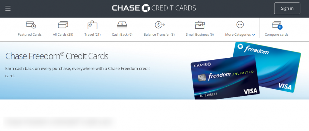 creditcards chase com/freedom-credit-cards - Chase Freedom
