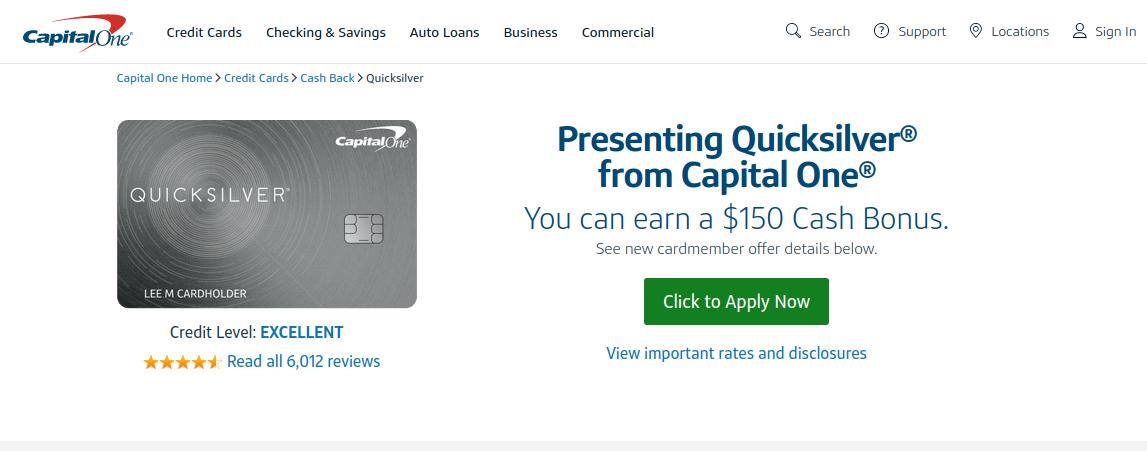 capital one quicksilver credit card application ипотека под строительство загородного дома сбербанк молодая семья