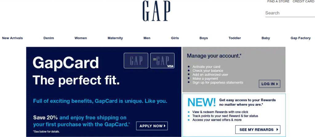 Gap Credit Card logo