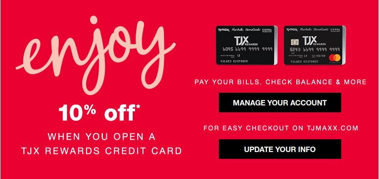 TJX Rewards Credit Card logo