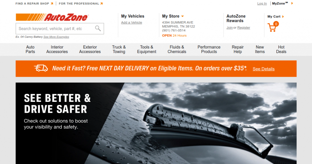 AutoZone Auto Parts Logo