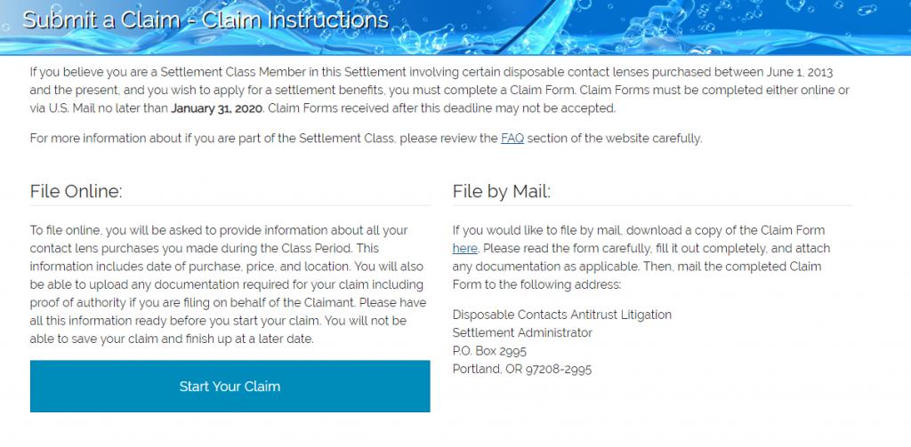 Submit a Claim Logo