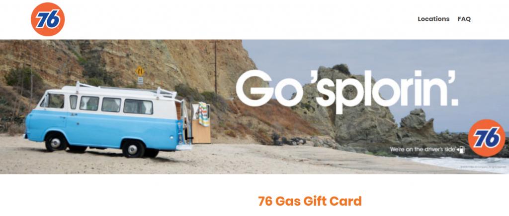 76 Gas Gift Card Logo