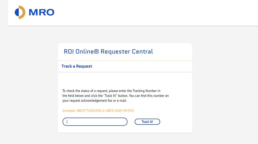 ROILog Track a Request
