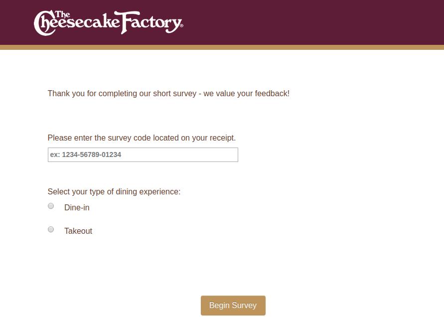 Cheesecake Survey