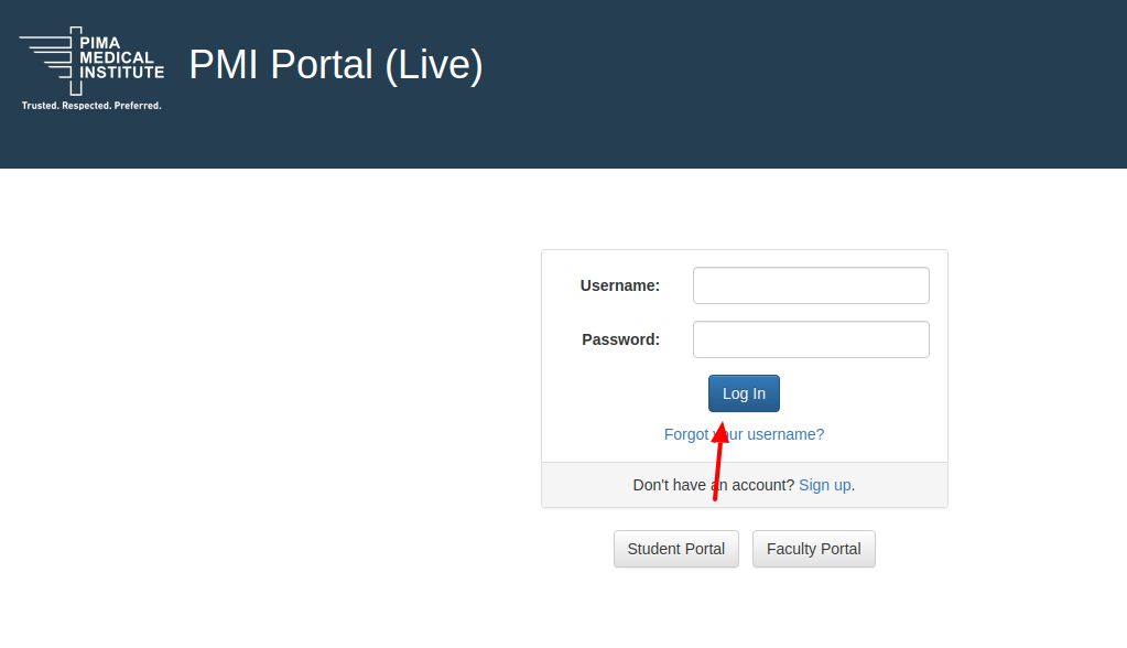 PMI Blackboard Login