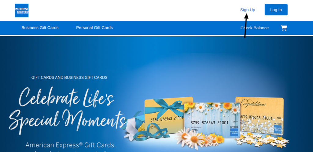 American Express Gift Card Sign Up