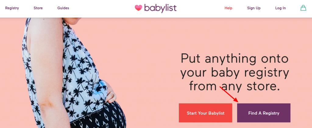 Babylist Registry Find