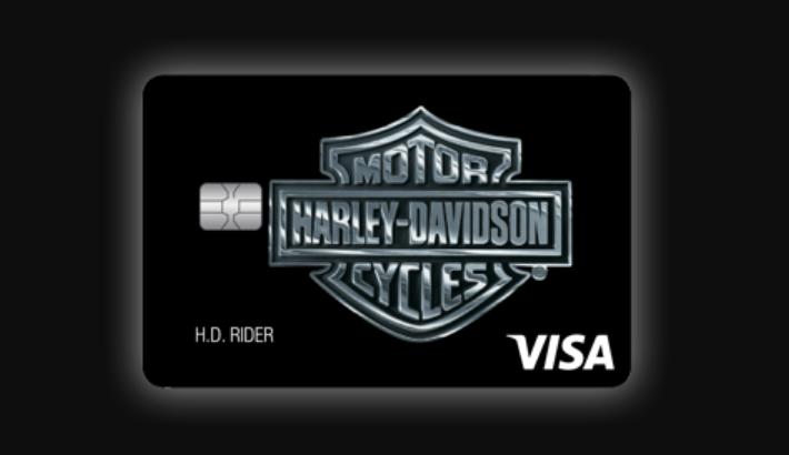 Harley Davidson Visa Credit Card Logo