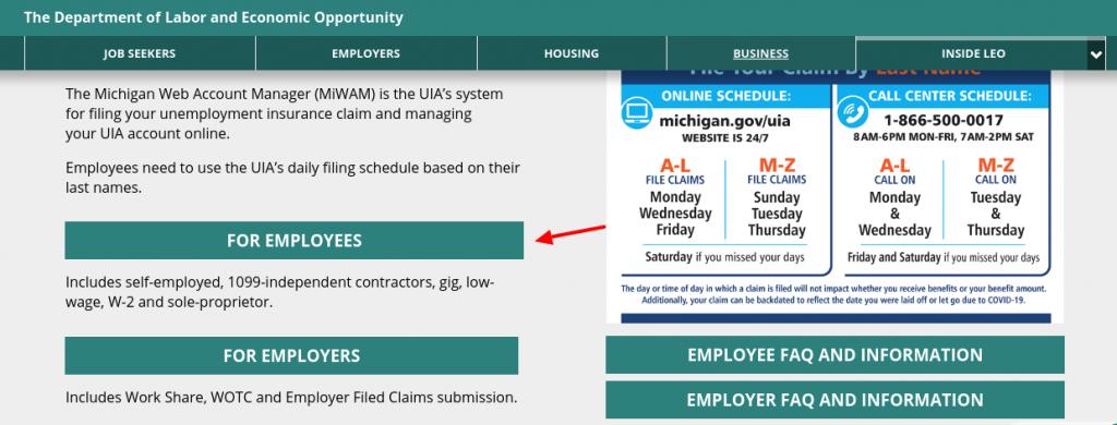 MiWAM Account Register