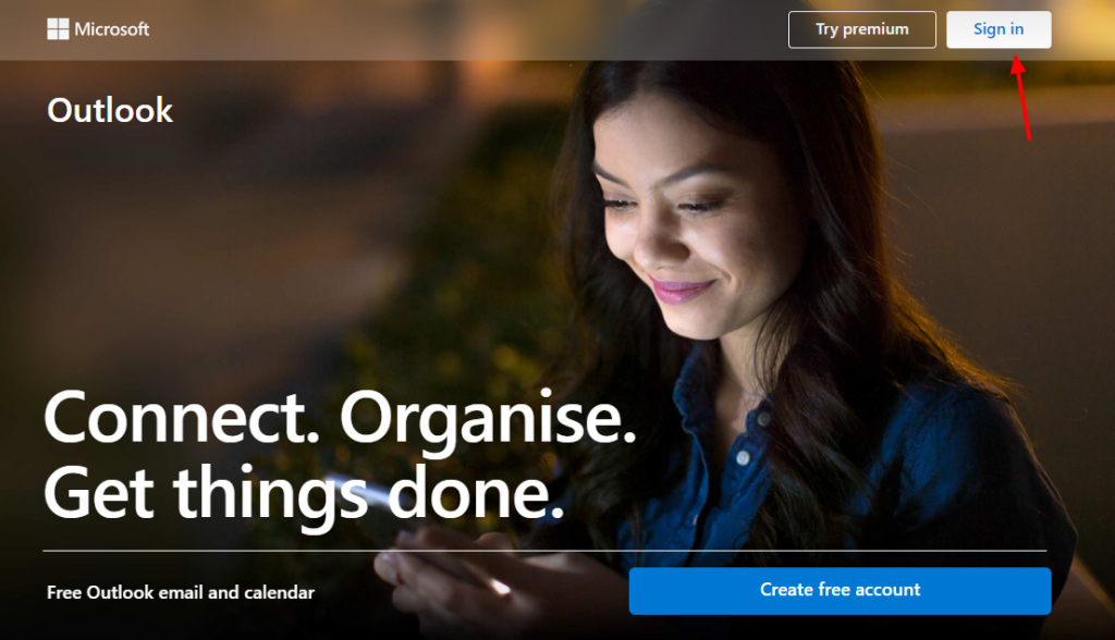 Microsoft Outlook Sign In