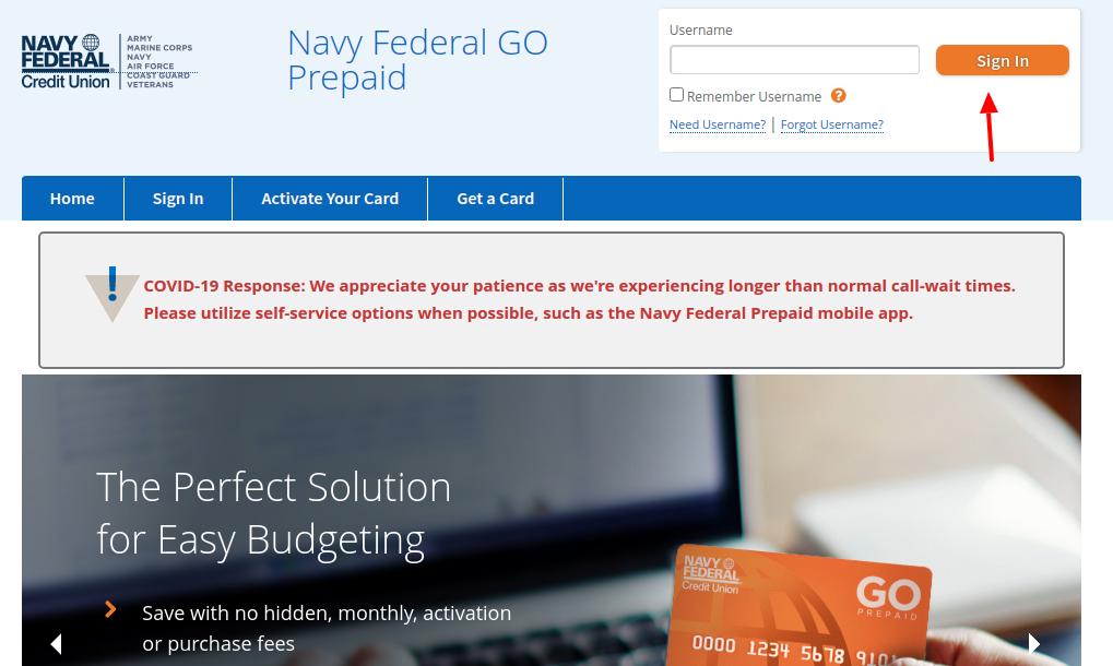 Navy Federal Login
