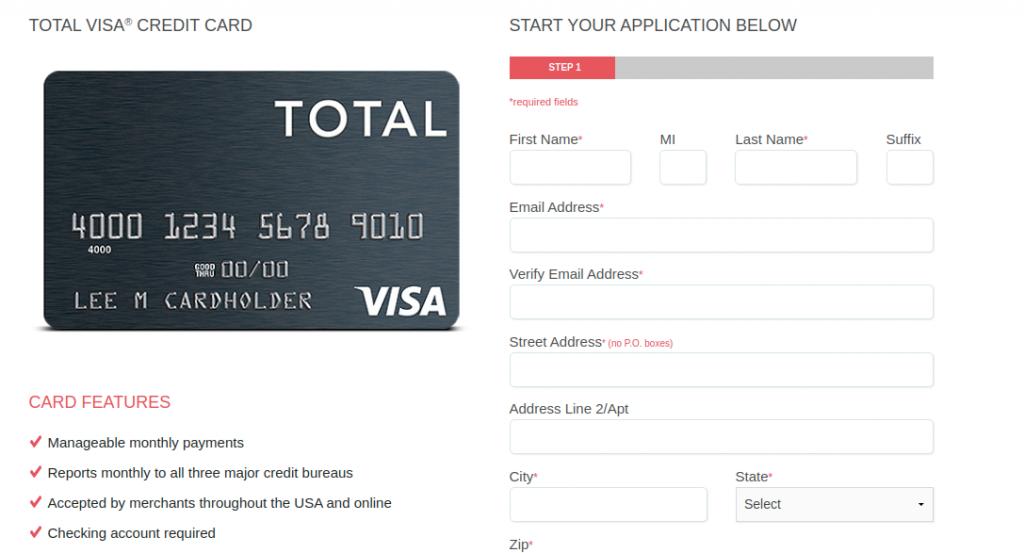 Total Visa Applicatipn