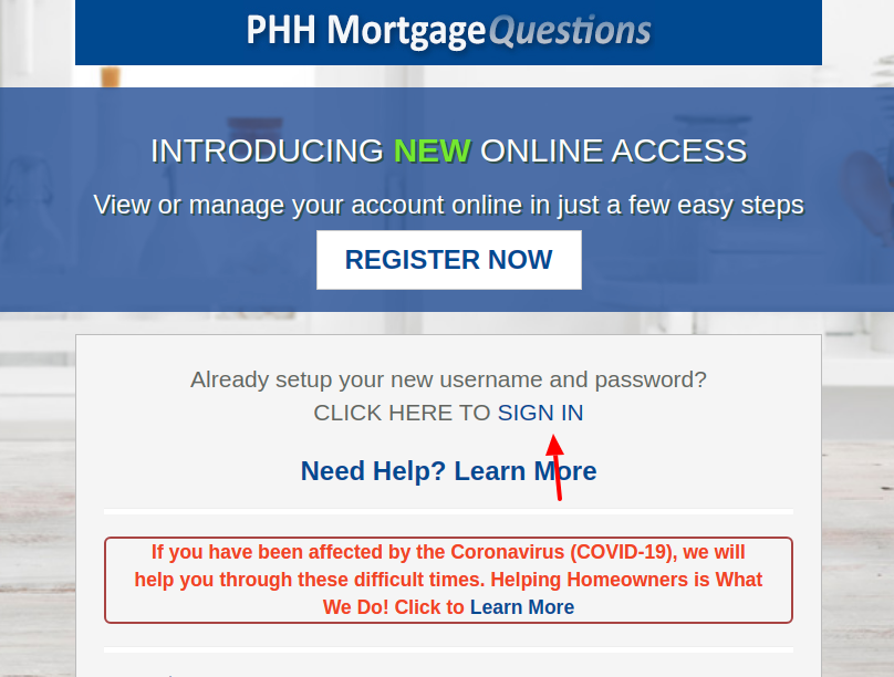ocwen loan servicing login