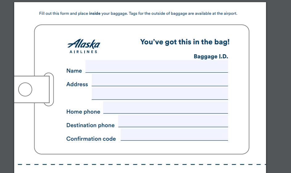 Alaska Airlines Rules