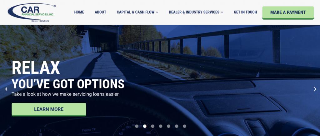 carfinance capital login