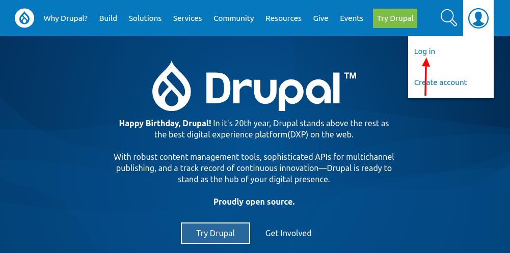 drupal secure login