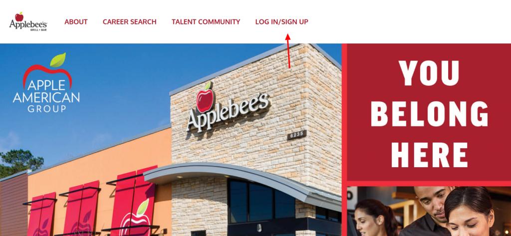 Applebee s Login