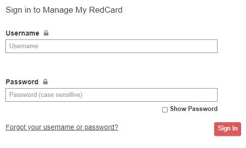 Target RedCard Bill Pay