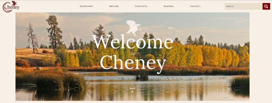 City of Cheney Login