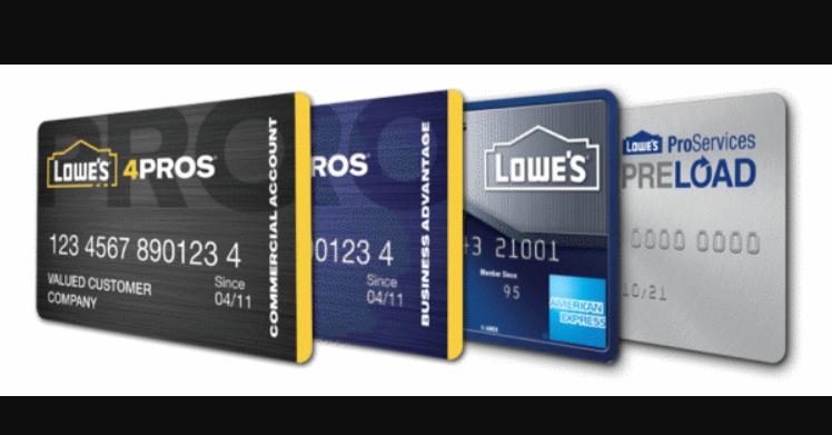 lowes credit card logo
